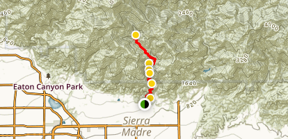 Orchard Camp via Mt Wilson Trail Map