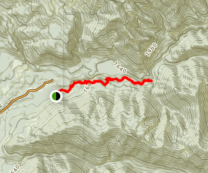 Little North Santiam Trail Map