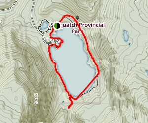 Hicks Lake Trail Map