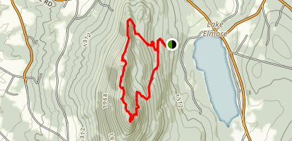 Elmore Mountain Trail Map