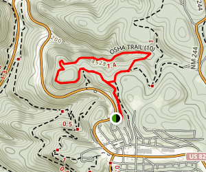 Osha Trail Map