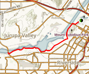 Santa Ana River Trail Map