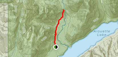 Gold Creek Lookout Map