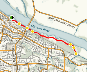 rotary riverfront trail closed map