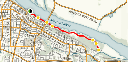 Rotary Riverfront Trail (CLOSED) Map