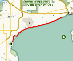 Bounday Bay Dyke Map