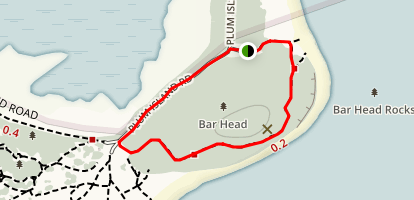 Bar Head Trail Map