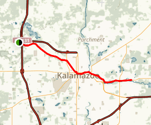 Kalamazoo River Valley Trail Map