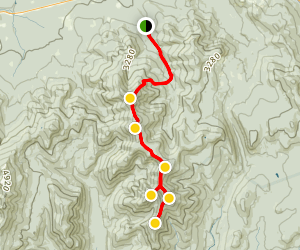 North and South Twin, Guyot, Bond, West Bond, and Bondcliff Trails Map