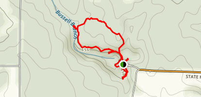 Interpretive Loop Trail Map