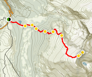 Mount Bierstadt Trail Map