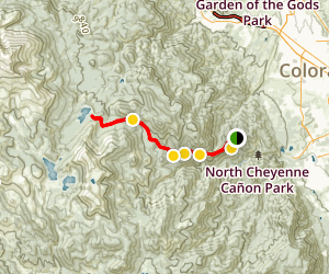 Cap'n Jacks Trail to Jones Park and Bear Creek Trail Map