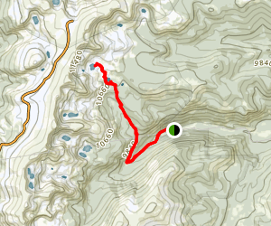 Upper Forest Lakes Trail Map