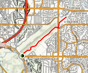 Cherry Creek Spillway Trail Map