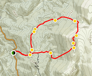 Sentinel Point Trail Map