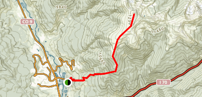 Ptarmigan Peak Map