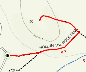 Hole in the Rock Trail Map