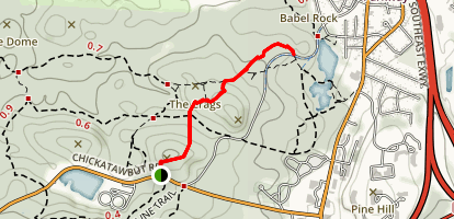 Rattlesnake and Wampatuck Hills Trail Map