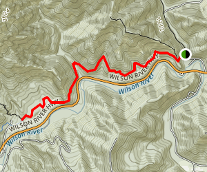 Upper Wilson River Trail Map