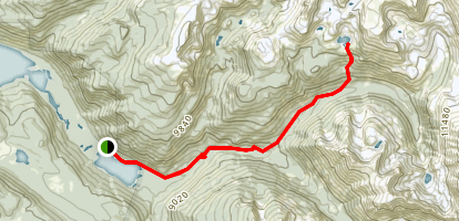 Gourd Lake Trail Map