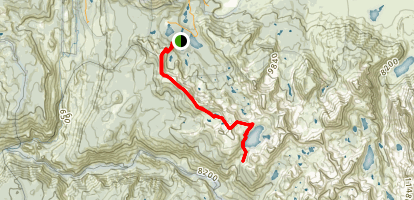 Mammoth Crest Traverse Trail Map