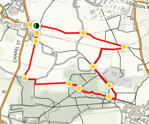 East Malling Walking Tour Map