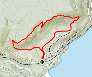 Indian Cliff Trail Map