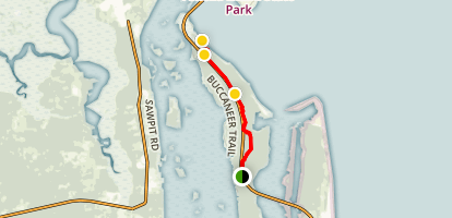 Timucuan Trail Map