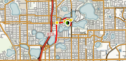 Downtown Orlando Cultural Walking Tour Map
