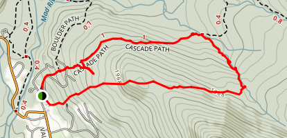 Cascade Path  Map