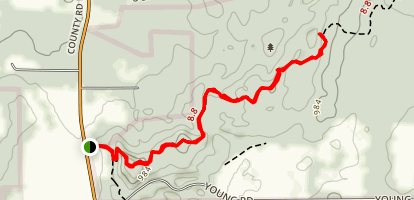 Bald Bluff Trail Map