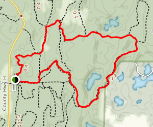 Nordic Trail Map