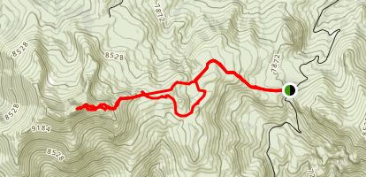 Granite Peak Trail Map