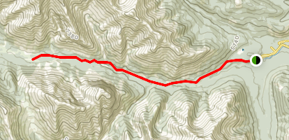 Sheep River Trail Map