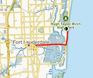 Fort Lauderdale Art Beat Walking Tour Map
