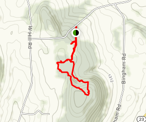 Rogers Environmental Education Center Trails Map