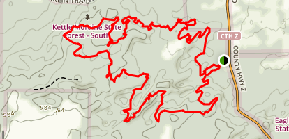 Emma Carlin Trails Map