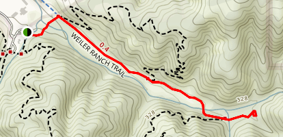 Weiler Ranch Road Trail Map