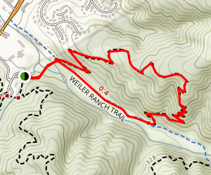 Valley View Trail Loop Map