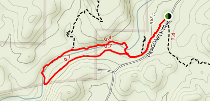Dragonfly Trail Map