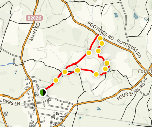 Edenbridge Loop Map