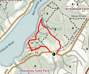 Maudslay State Park Map