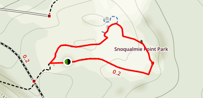 Snoqualmie Point Park Map