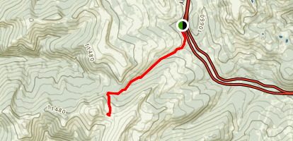 Wilder Gulch Trail Map