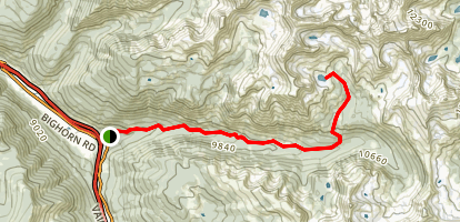 Gore Lake Map
