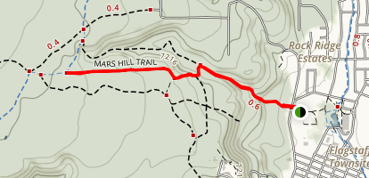 Mars Hill Trail Map