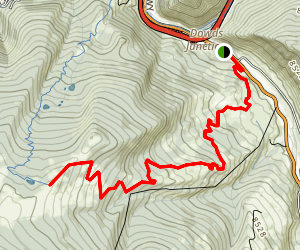 Meadow Mountain Map