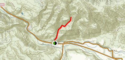 Waterworks Canyon Trail Map