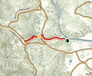 Middle Creek Trail Map