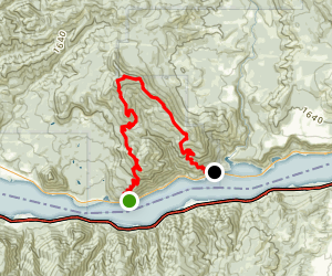Augspurger Mountain Hike (Dog and CAT) Map